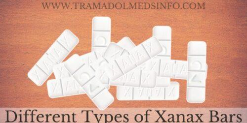 Different Types of Xanax Bars - Tramadol Medsinfo